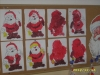 Portret Mikołaja w wykonaniu dzieci z gr. II i V