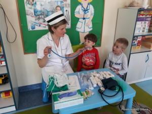 Spotkanie z pielęgniarką w gr. II