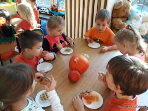 Dzień pomarańczowy w naszym przedszkolu