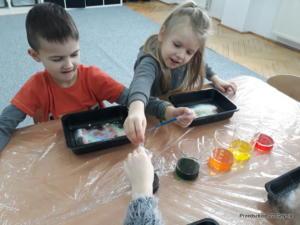 Wizyta dzieci z gr. III w Szkole Podstawowej nr 53 w Gdyni