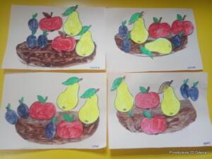 Kosz z owocami gr. V