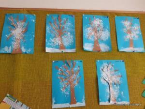 Zimowe drzewa gr. II