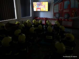 Wizyta Starszaków w siedzibie straży pozarnej