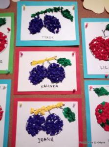 Jesienne owoce gr. II