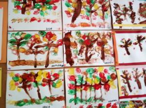 Jesienne drzewa gr II