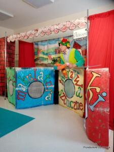 Teatrzyk Qfer w przedszkolu