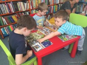 Wizyta gr. II w bibliotece